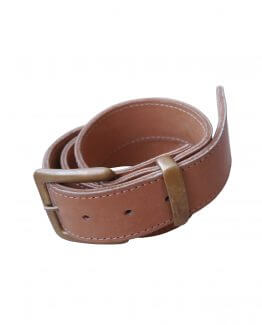 Belt with Buckle & Brass Loop
