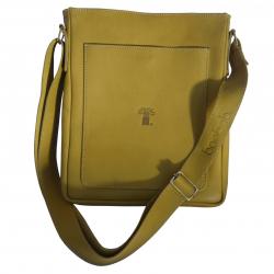 Zip-Top Messenger Bag